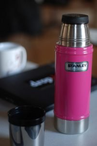Thermos mugs come in all different styles and colors